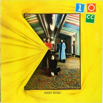 10CC 1974 Sheet Music