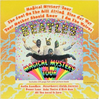 BEATLES 1967 Magical Mystery Tour
