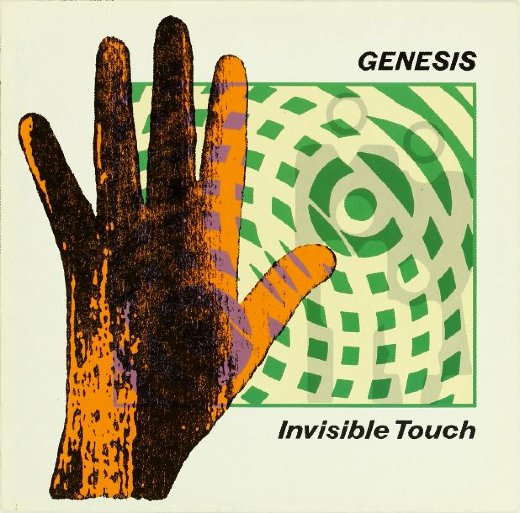 GENESIS 1986 Invisible Touch