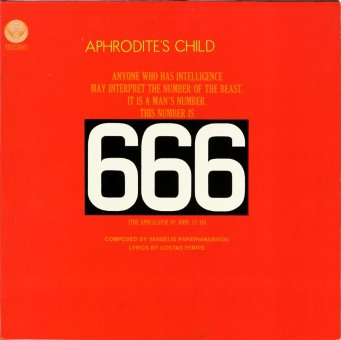 "APHRODITE'S CHILD 1972 ""666"""