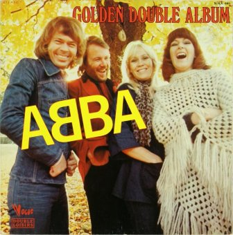 ABBA 1976 Golden Double Album