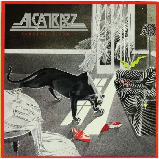 ALCATRAZZ 1986 Dangerous Games