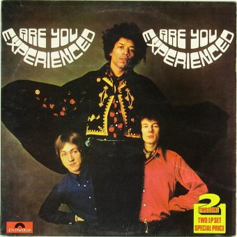 JIMI HENDRIX EXPERIENCE 1975 Are You Experienced / Axis: Bold As Love