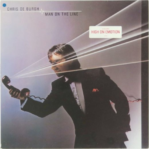 CHRIS DE BURGH 1984 Man On The Line