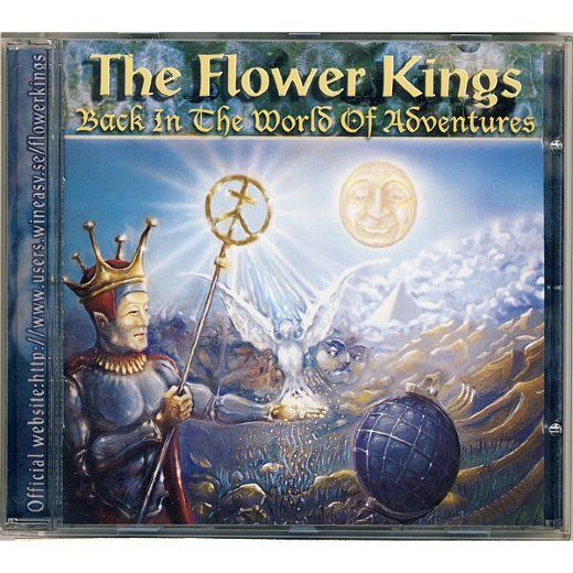 FLOWER KINGS 1995 Back In The World Of Adventures