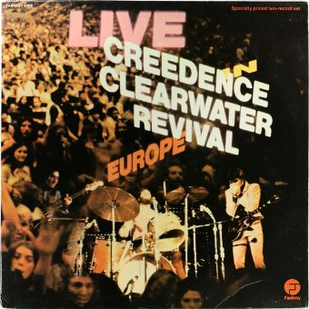 CREEDENCE CLEARWATER REVIVAL 1973 Live In Europe