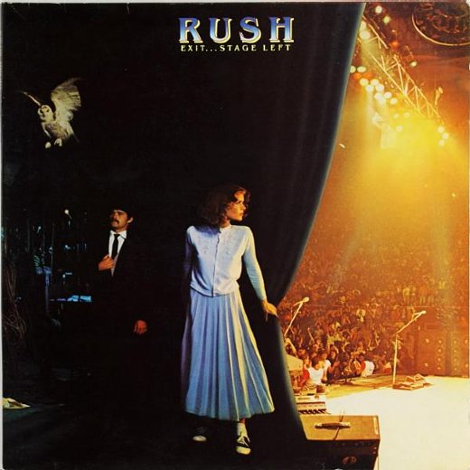 RUSH 1981 Exit… Stage Left