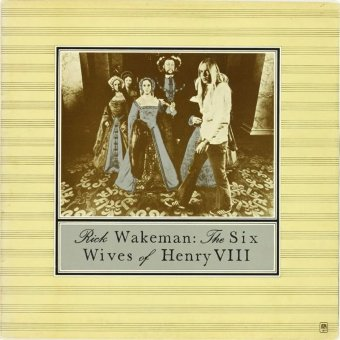 RICK WAKEMAN 1973 Six Wives Of Henry VIII