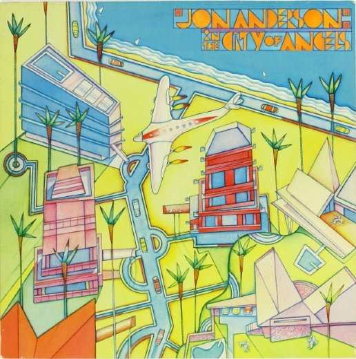 JON ANDERSON 1988 In The City Of Angels