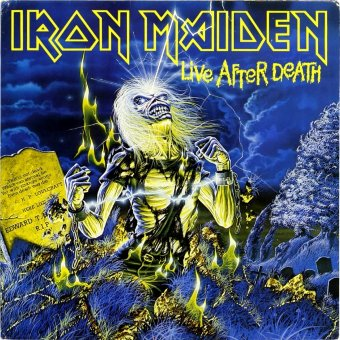 IRON MAIDEN 1985 Live After Death