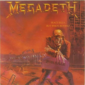 MEGADETH 1993 Peace Sells…But Who's Buying?