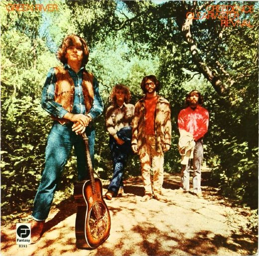 CREEDENCE CLEARWATER REVIVAL 1969 Green River