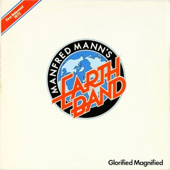 MANFRED MANN'S EARTH BAND 1972 Glorified Magnified