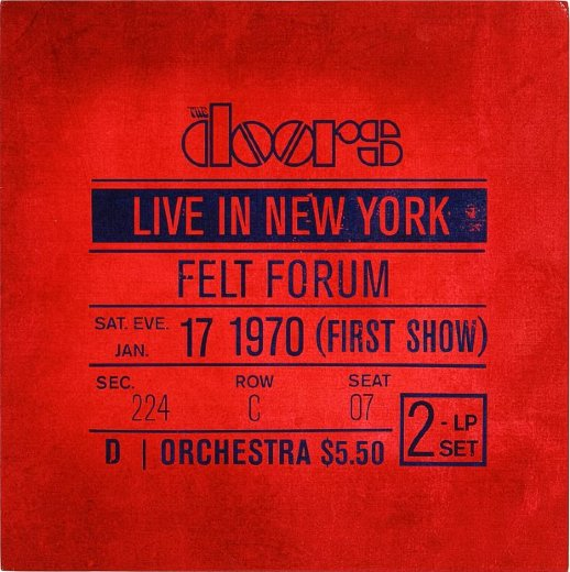 DOORS 2010 Live In New York 1970