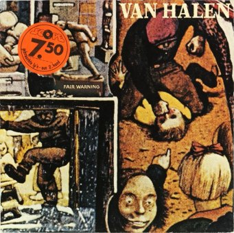 VAN HALEN 1981 Fair Warning