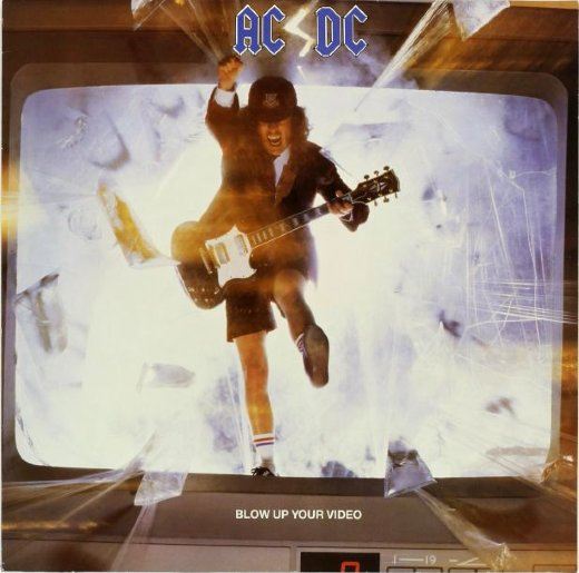 AC/DC 1988 Blow Up Your Video