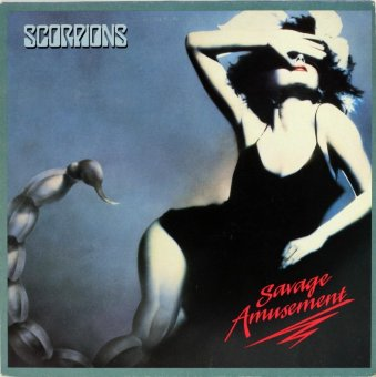 SCORPIONS 1988 Savage Amusement