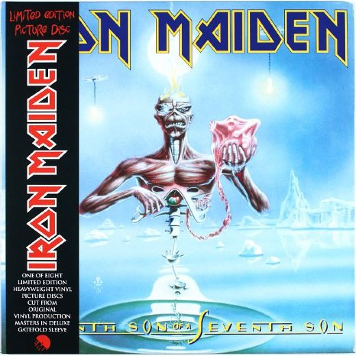 IRON MAIDEN 1988 Seventh Son Of A Seventh Son (Picture Disc)