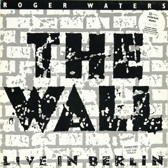 ROGER WATERS 1990 The Wall: Live In Berlin