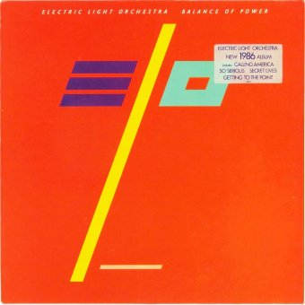 ELECTRIC LIGHT ORCHESTRA 1986 Balance Of Power