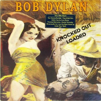 BOB DYLAN 1986 Knocked Out Loaded
