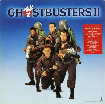 GHOSTBUSTERS II 1989 (Original soundtrack)