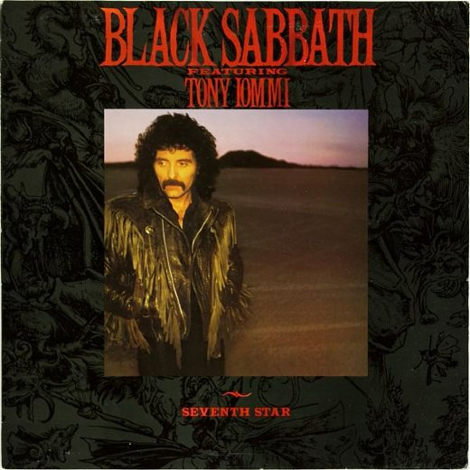 BLACK SABBATH 1986 Seventh Star