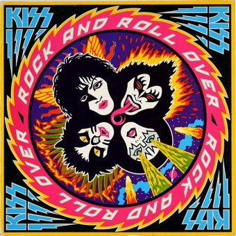 KISS 1976 Rock And Roll Over