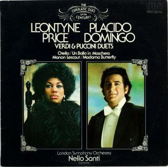 PLACIDO DOMINGO / LEONTYNE PRICE 1976 Verdi And Puccinl Duets