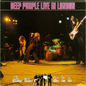 DEEP PURPLE 1982 Live In London
