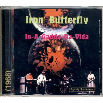 IRON BUTTERFLY 1968 In-A-Gadda-Da-Vida