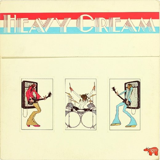 CREAM 1972 Heavy Cream