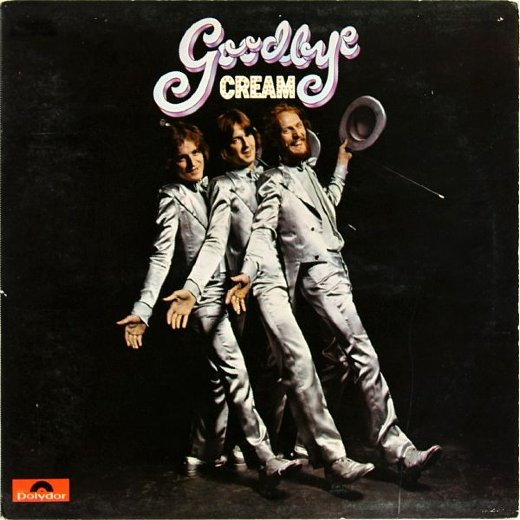 CREAM 1969 Goodbye
