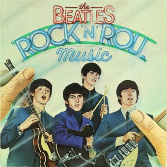 BEATLES 1976 Rock'n'Roll Music
