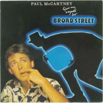 PAUL McCARTNEY 1984 Give My Regards To Broadstreet