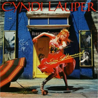 CYNDI LAUPER 1983 She's So Unusual