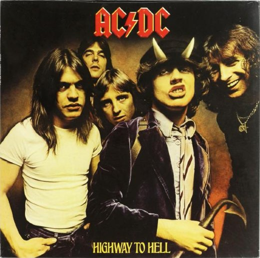 AC/DC 1979 Highway To Hell
