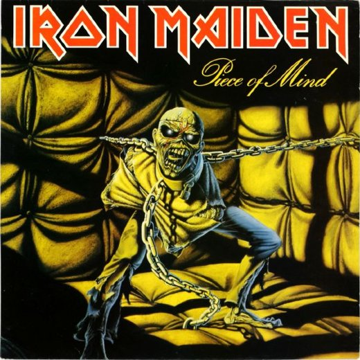 IRON MAIDEN 1983 Piece Of Mind