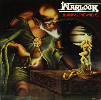 WARLOCK 1984 Burning The Witches