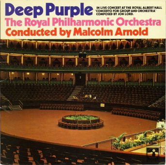 DEEP PURPLE 1970 Concerto For Group And Orchestra