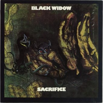 BLACK WIDOW 1970 Sacrifice