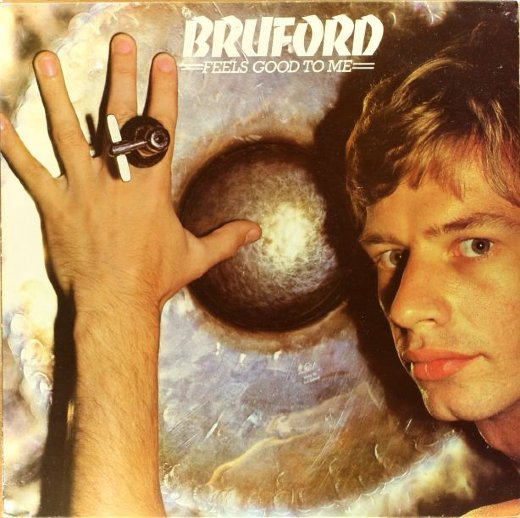 BRUFORD 1977 Feels Good To Me