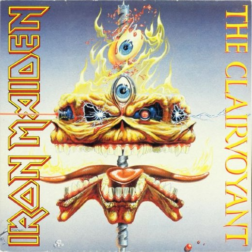 IRON MAIDEN 1988 The Clairvoyant