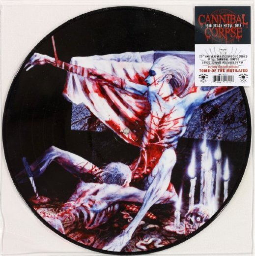 CANNIBAL CORPSE 1992 Tomb Of The Mutilated