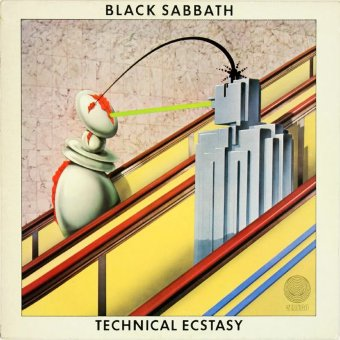 BLACK SABBATH 1976 Technical Ecstasy
