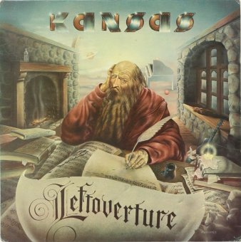 KANSAS 1976 Leftoverture