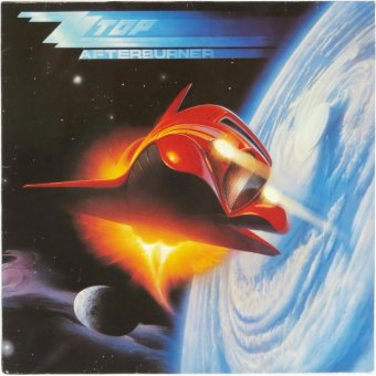 ZZ TOP 1985 Afterburner