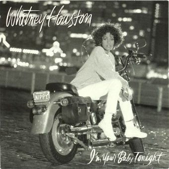 WHITNEY HOUSTON 1990 I'm Your Baby Tonight