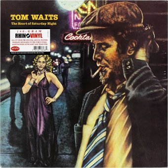 TOM WAITS 1974 The Heart Of Saturday Night