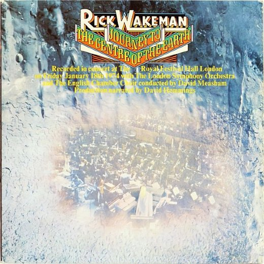 RICK WAKEMAN 1974 Journey To The Centre Of The Earth